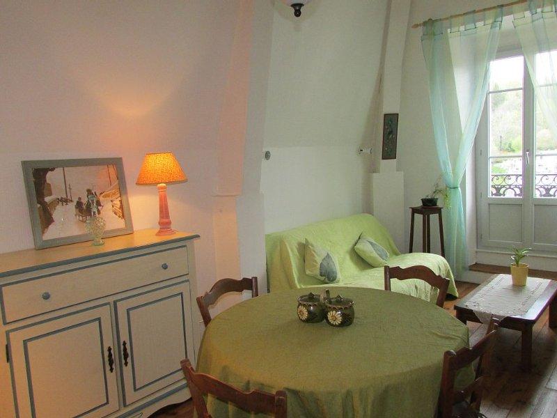 A la BOURBOULE, bel appartement face aux therme, location de vacances à La Bourboule