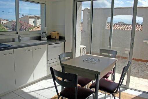 Appartement à Frontignan Plage 2 CH, location de vacances à Frontignan