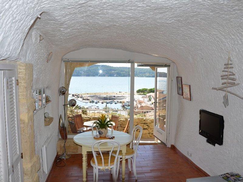 maison insolite calme vue exceptionnelle sur l'Etang, parking privé, classée 3*, holiday rental in Saint-Mitre-les-Remparts