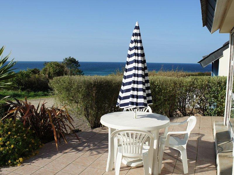 Maison chaleureuse et confortable avec vue mer à 180° A Plouhinec, alquiler de vacaciones en Audierne