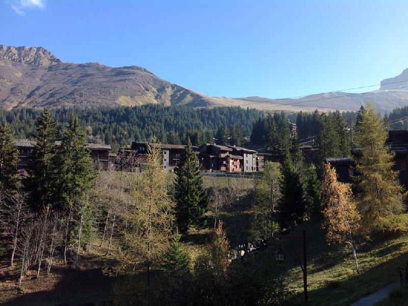 Studio rez de chaussée ski aux pieds terrasse, casa vacanza a Les Avanchers-Valmorel