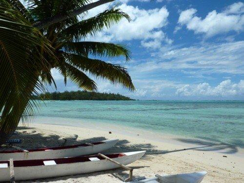 Haapiti Beautiful fully equipped house, beach facing the motus, location de vacances à Archipel de la Société