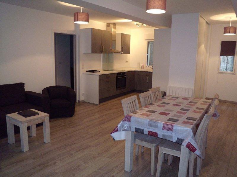 Appartement T3 spacieux au centre du village, location de vacances à Cauterets