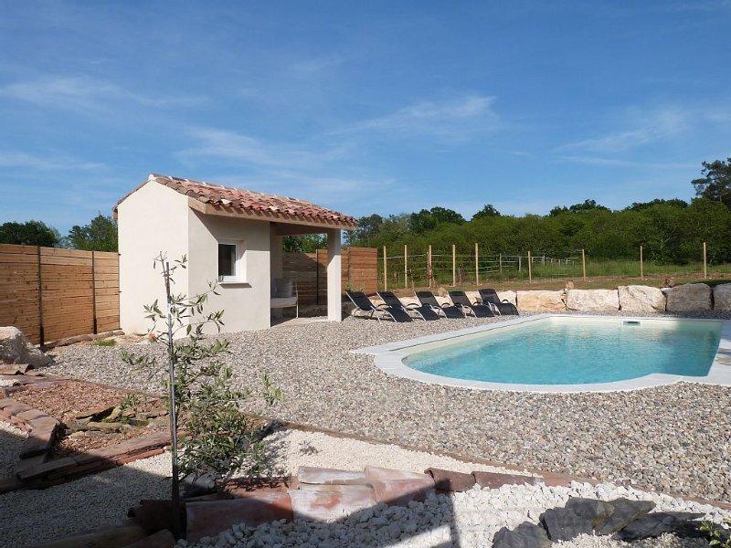 Gite de  roussile haut avec piscine privée, holiday rental in Monpazier