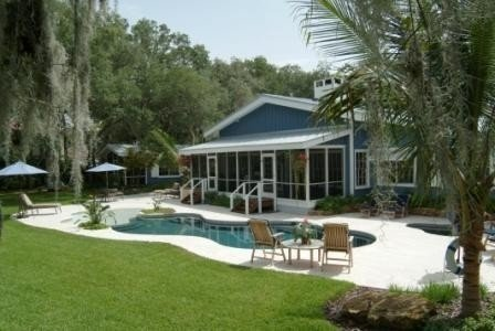 1 1/2 Acre Intercoastal Home w/ Guest House, Trail, Beach, Dock, Playground, vacation rental in Viera
