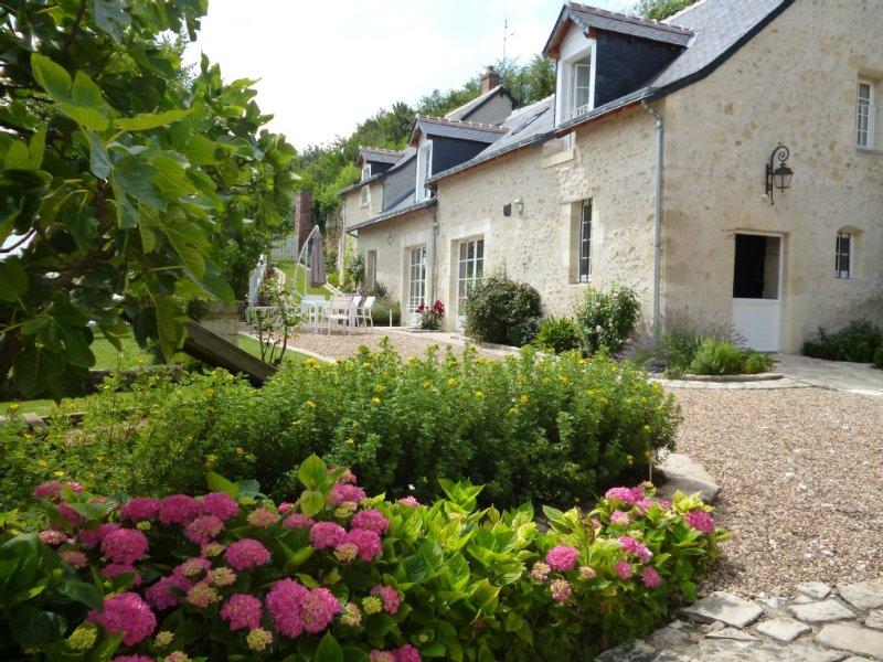Le Clos de Venise, une remarquable maison de maître vigneronne, près d'Amboise, location de vacances à Indre-et-Loire
