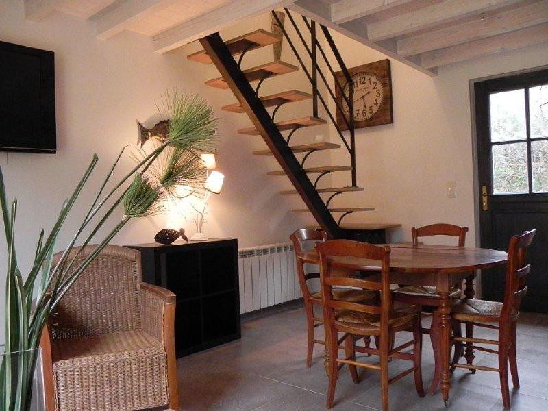 Maison pour 4 personnnes proche de la Rance, vacation rental in St Suliac