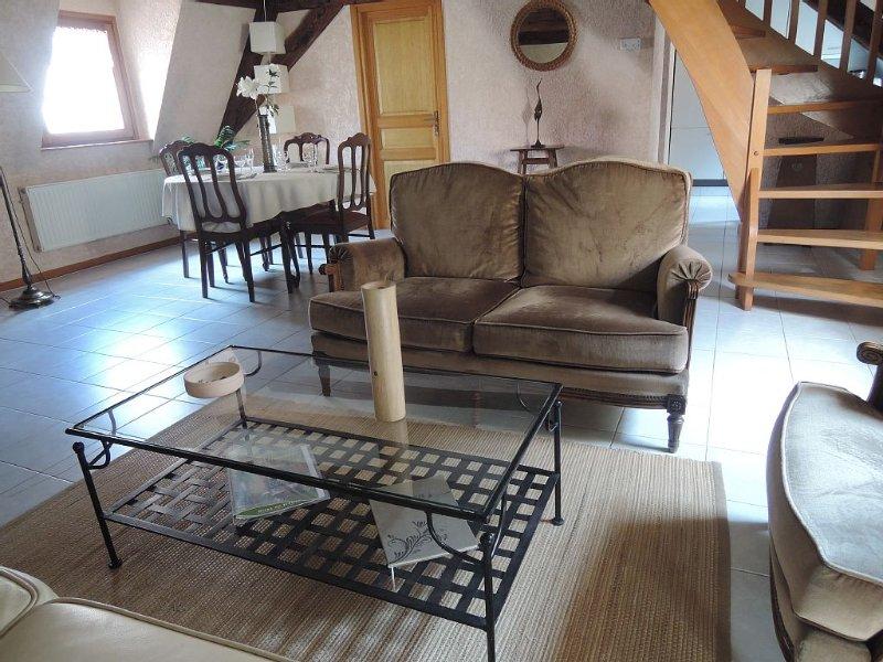 hypercentre - Gîte de charme ***  80m² - 2 chambres - duplex spacieux & pratique, Ferienwohnung in Colmar