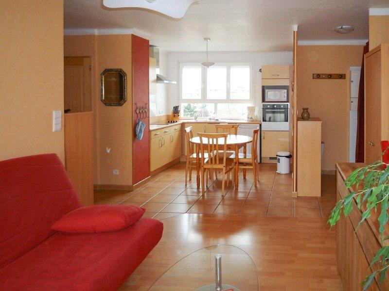 Appartement, vue sur montagne, proche lac, calme, 1 chambre, 5 personnes, vakantiewoning in Annecy