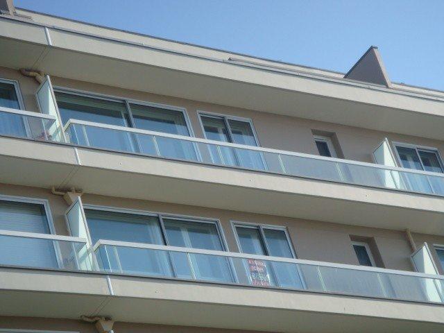 L'appartement vu de la plage (6ème étage)
