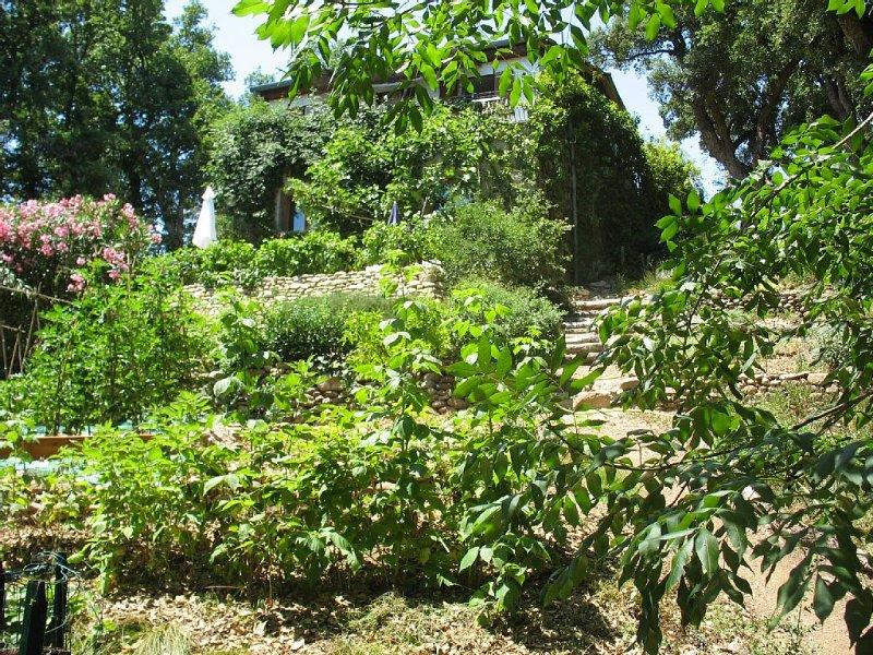 Argeles Le Jardin des Albères, T2 classé*** dans parc de 5000m2- 2 à 3 personnes, holiday rental in Argeles-sur-Mer