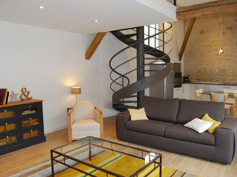 SUPERBE LOFT rénové+jardin+garage  25 kms Chalons en Champagne  (SUIPPES), vacation rental in Marne