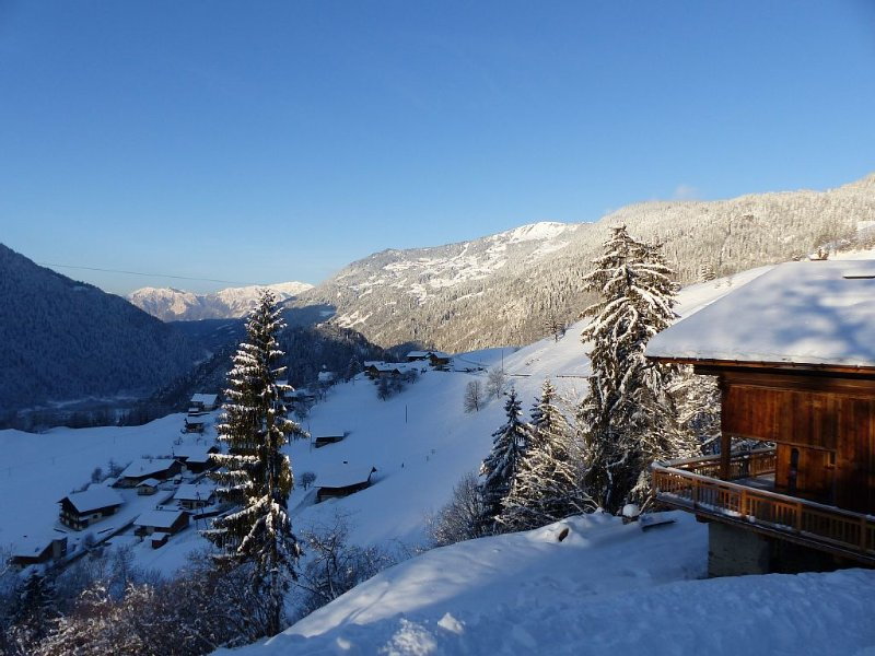 Mountain chalet, near Hauteluce Les SaisiesLes Contamines, Arèches. Easy access, holiday rental in Beaufort