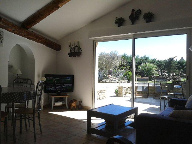 GITE LE CHINAILLON     SAUMANE DE VAUCLUSE   PROVENCE, vacation rental in Vaucluse