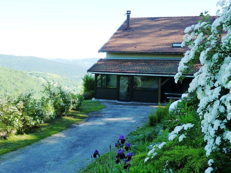 8 pers cottage with spa, La Bresse, in the mountains near ski resort, location de vacances à Rochesson
