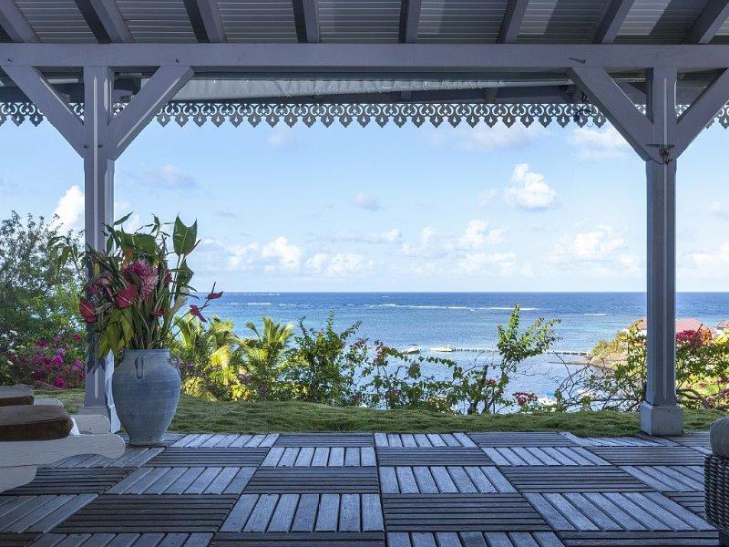 La Maison du Cap : Cadre Exceptionnel à 50m de la mer avec Vue Mer Epoustouflant, alquiler de vacaciones en Le Francois