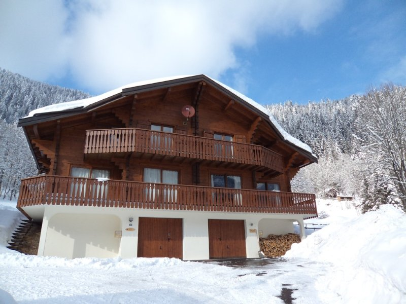 CHALET CHATEL LAURETTE the slopes of Linga 8 people 4 bedrooms, vacation rental in Chatel