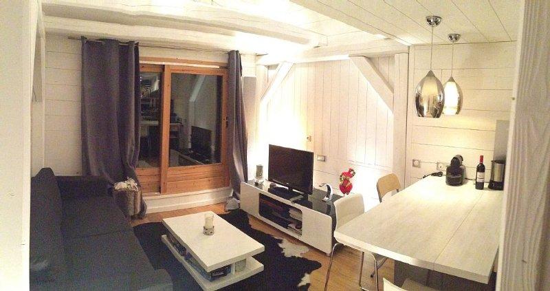 LUXUEUX APPARTEMENT AU PIED DES PISTES  VARS LES CLAUX, holiday rental in Vars