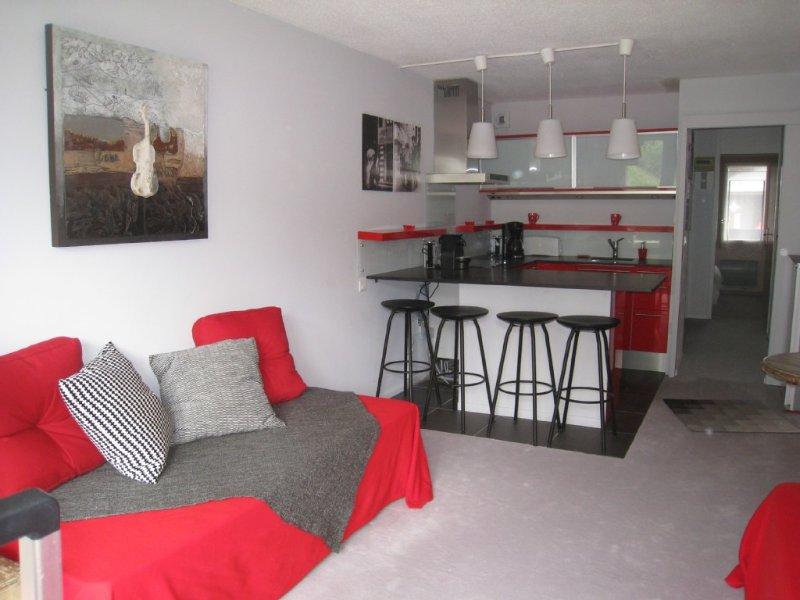 Agréable appartement à Méribel-Mottaret 3 étoiles 36m² plein Sud skis aux pieds, location de vacances à Meribel