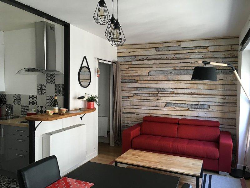 Charmant appartement très lumineux, central et calme, plage à deux pas, alquiler vacacional en Ille-et-Vilaine