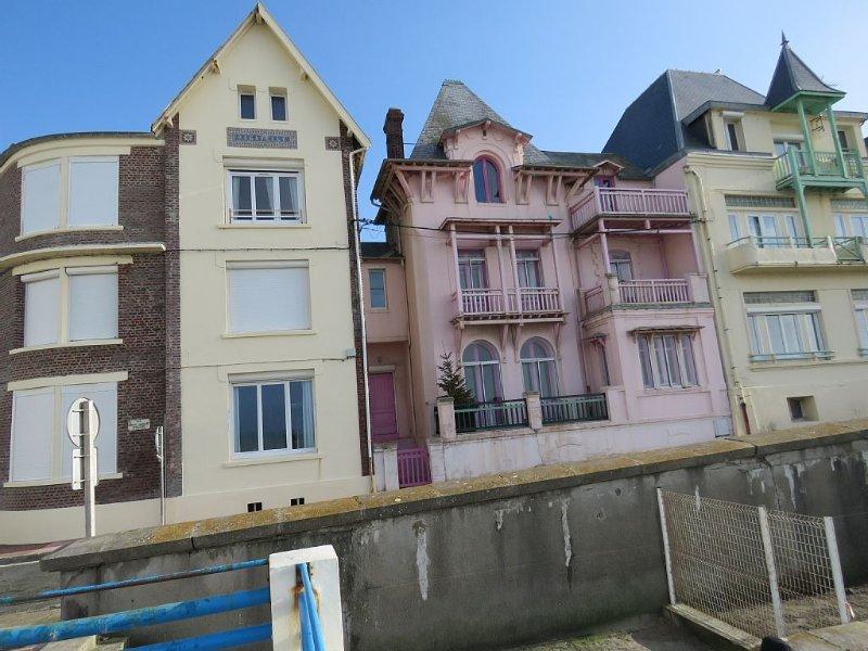 Appartement en front de mer, idéal pour découvrir la Baie de Somme, holiday rental in Saint-Quentin-la-Motte-Croix-au-Bailly
