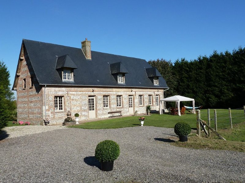 Gîte du château de Grosmesnil, holiday rental in Fontaine-le-Bourg