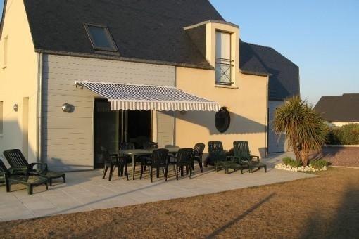 Maison bord de mer 8pers,jardin ,2canoës et 4vélos (2 avec porte bébé)Internet, alquiler de vacaciones en Saint-Jean-de-la-Riviere