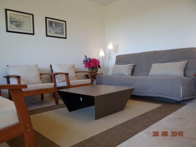 3 PIECES, jardin clos d'environ 200 m2 , aperçu mer 40m, holiday rental in Carnac