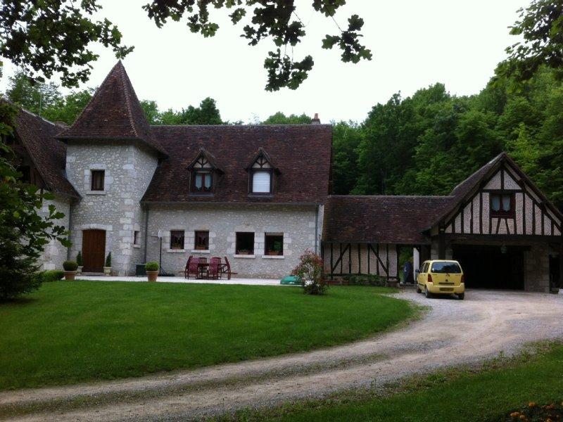 Etape idéale pour visiter les chateaux de la Loire., holiday rental in Mont-pres-Chambord