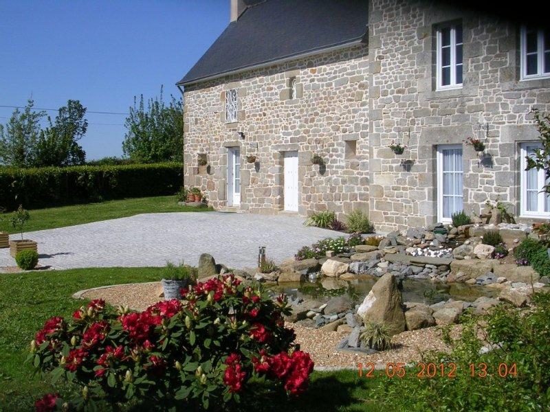 Gîte de campagne, classé 3* avec 3 chambres, pour  6 personnes, toute équipé, vacation rental in Quimper