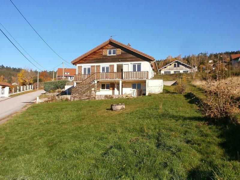 Gerardmer house rental 8 people, fully equipped, alquiler de vacaciones en Gerardmer