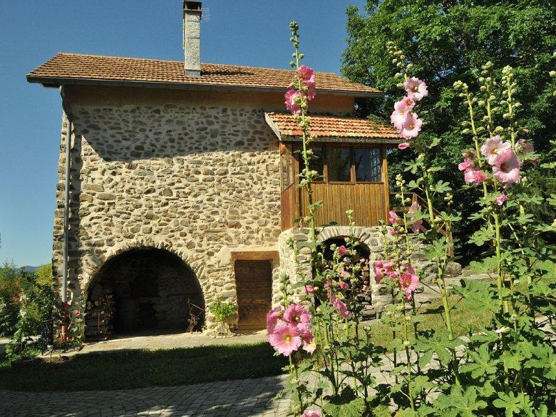 Maison ancienne restaurée au piémont de Céüze à Sigoyer . Le gîte est classé ., holiday rental in Clamensane