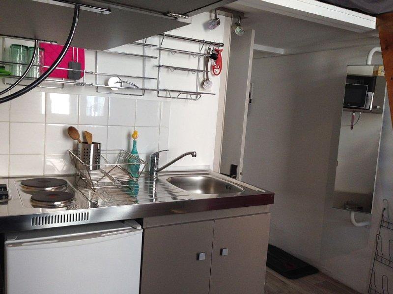 Studio 100% renovated, intramural Crillon, hyper, vacation rental in Avignon
