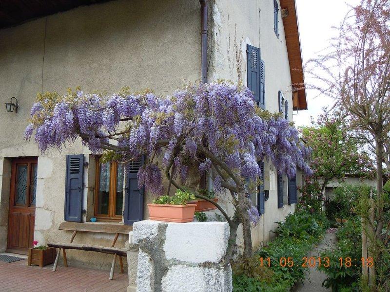 Apartment in an old farmhouse, location de vacances à Haute-Savoie
