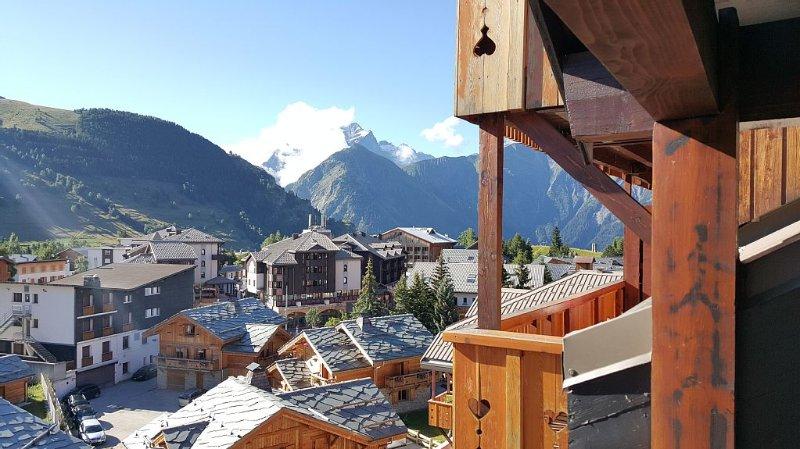 Très beau 3 pièces - 50 m2 - cœur de station - neuf, alquiler vacacional en Les Deux-Alpes