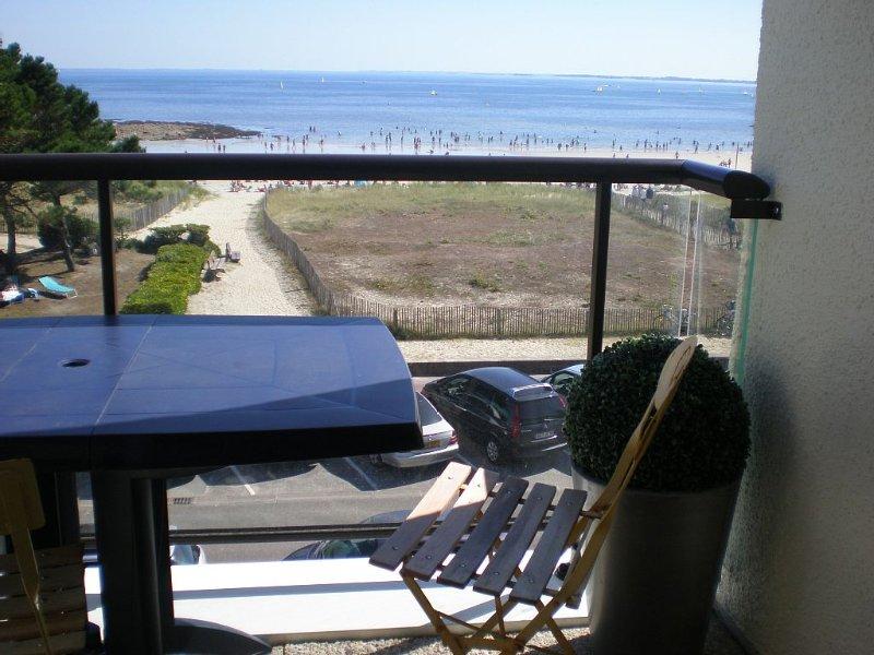 appartement vue mer superbe vue, holiday rental in Carnac