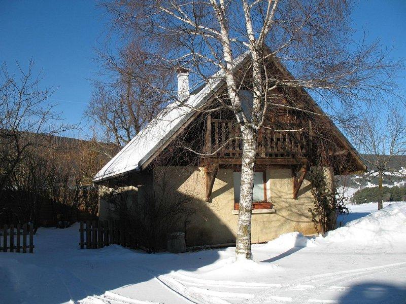 la petite maison aux Bonnets, location de vacances à Meaudre