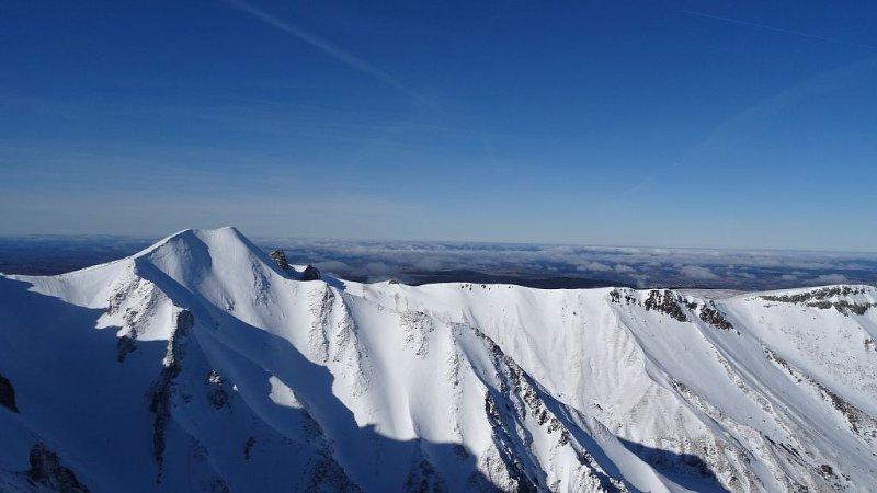 vue en haut du Puy de Sancy