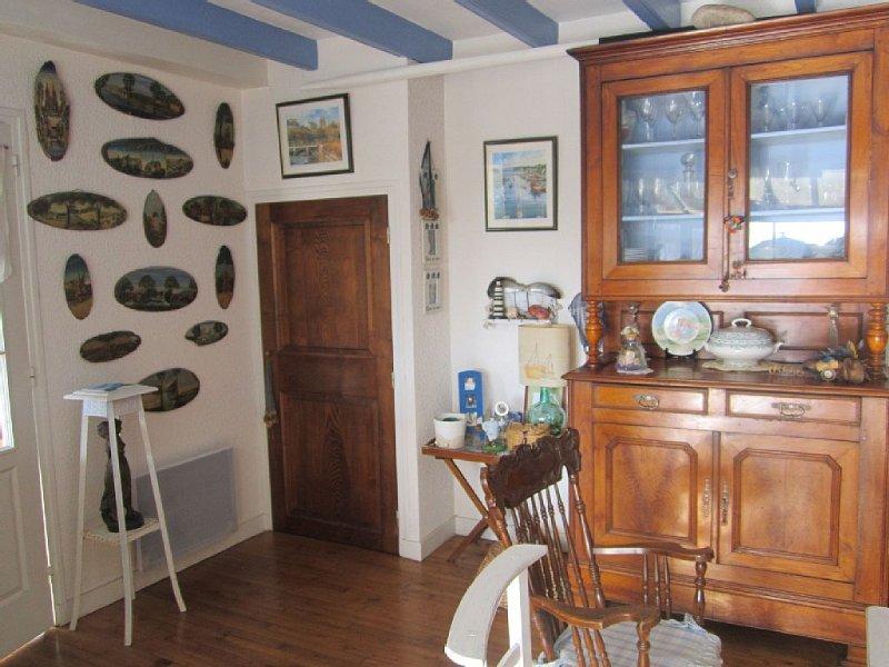Maison De Pêcheurs très Confortable, Vue Mer, GR 34 à 300m, POINTE du RAZ 20 kms, alquiler de vacaciones en Audierne