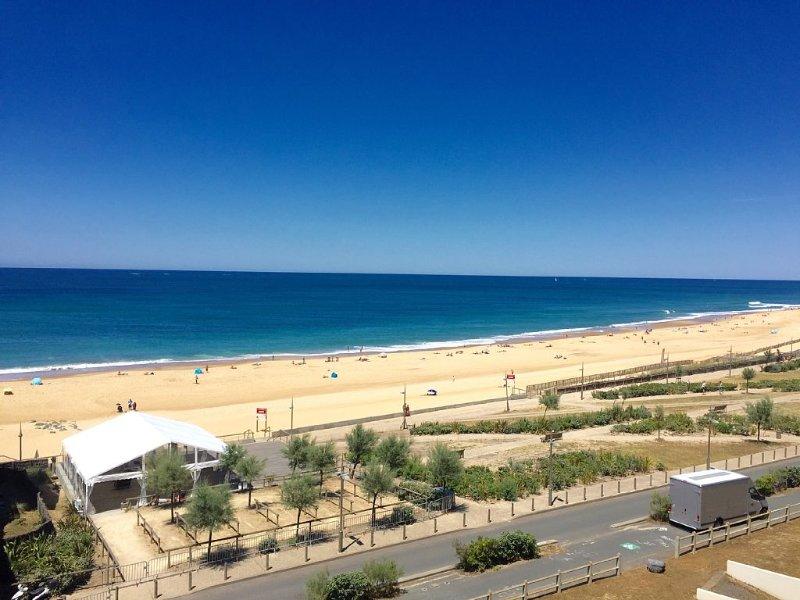 Appartement avec vue imprenable et accès direct aux plages., casa vacanza a Hossegor