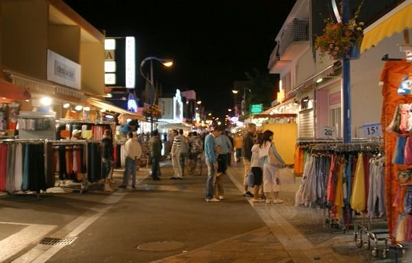 rue piétonne de St Jean de Monts