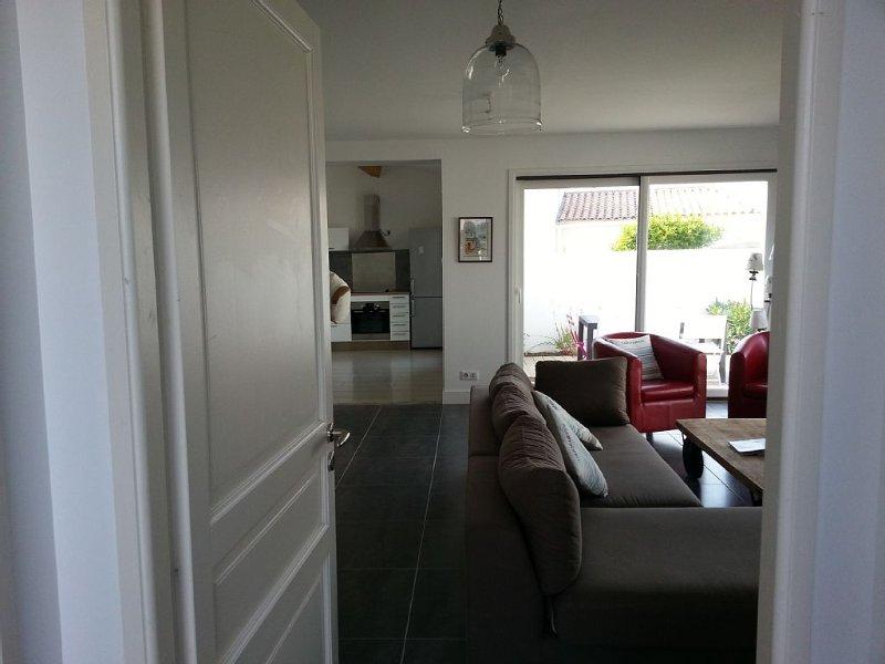 Belle Maison Déco, 3 chambres Jardin à 10 min à pied des belles plages, holiday rental in Saint Clement des Baleines
