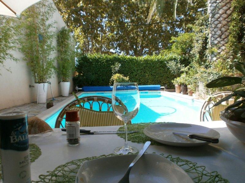 Jolie maison avec piscine en petite camargue prox. Aigue mortes,plage, holiday rental in Marsillargues