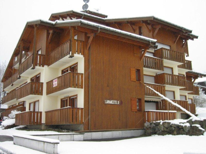 LES CONTAMINES - Appt 2 pièces plus cabine -  Centre village, location de vacances à Les Contamines-Montjoie