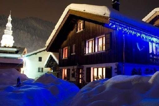 Apartment in a village of Haute-Savoie, at the foot of the slopes, La Clusaz, vacation rental in La Clusaz