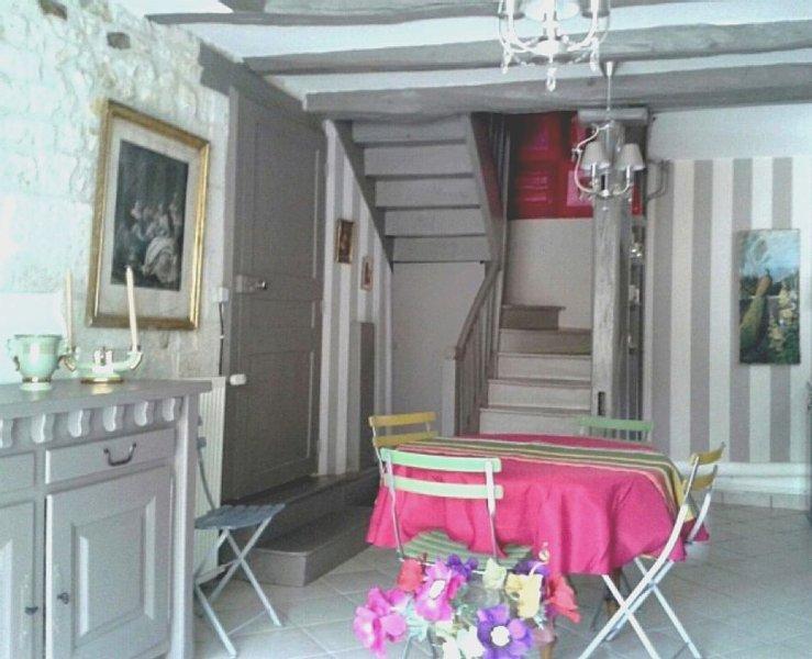 Vacances joyeuses en famille au Clos de Kaline, 2/4 pers, terrasse, location de vacances à Ingrandes