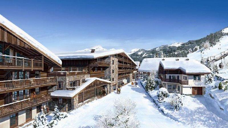 Appartement 4/6 pers - CHÂTEL centre, pied des pistes - LES PORTES DU SOLEIL, vacation rental in Chatel