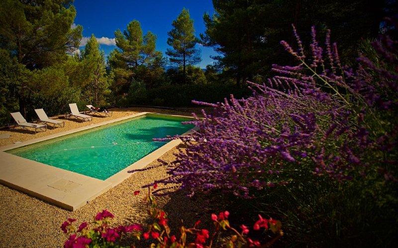 Villa en pierre avec piscine en plein coeur du Lubéron, aluguéis de temporada em Saint-Saturnin-les-Apt