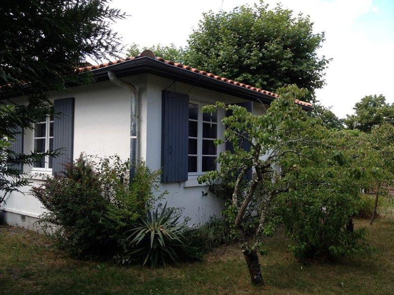 Maison atypique pour passer des vacances 'Velo et Bandes-dessinées', holiday rental in Andernos-les-Bains