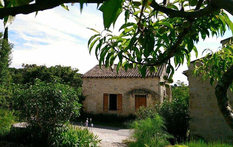 Perchée sur les coteaux, maison en pierre restaurée dans la tradition, vacation rental in Dolmayrac
